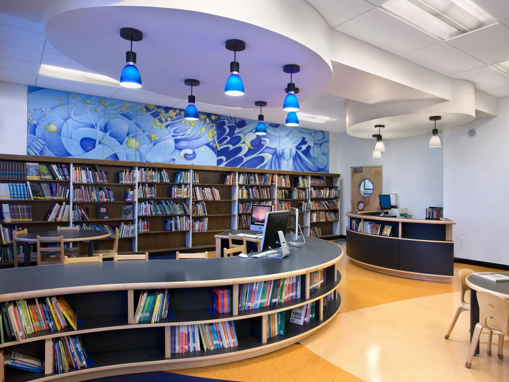 Картинки современная библиотека